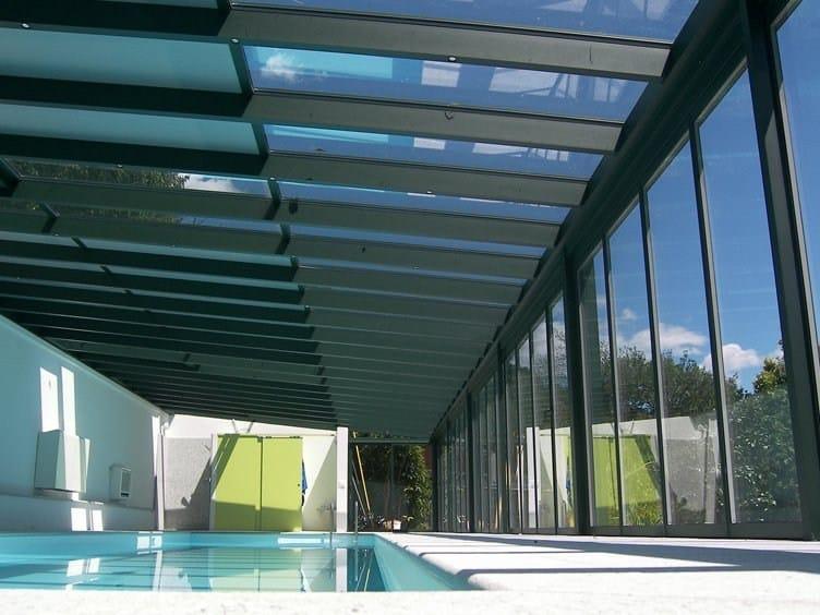 Aluminium conservatory canopy CR+ | Aluminium canopy by FRUBAU