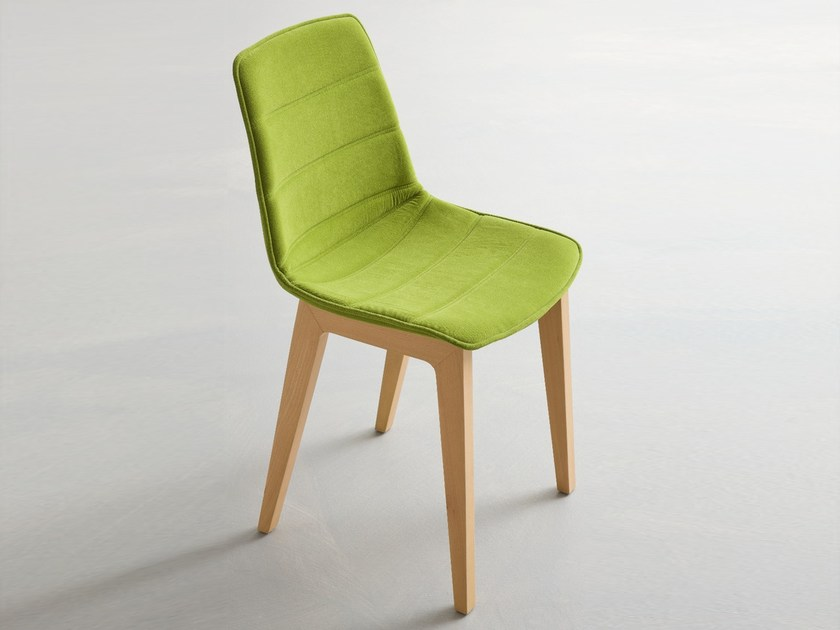 Upholstered fabric chair ALHAMBRA | Upholstered chair by GABER