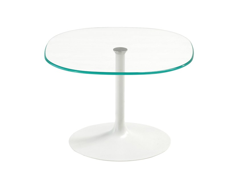 Coffee table FLÛTE SHAPED by Sovet italia