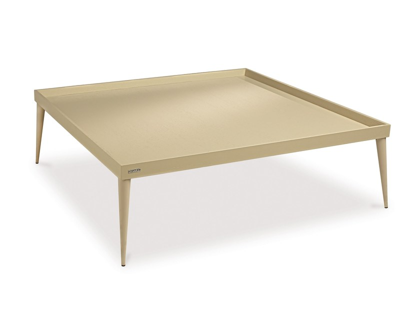 Square wooden coffee table CITY | Square coffee table by Cantori