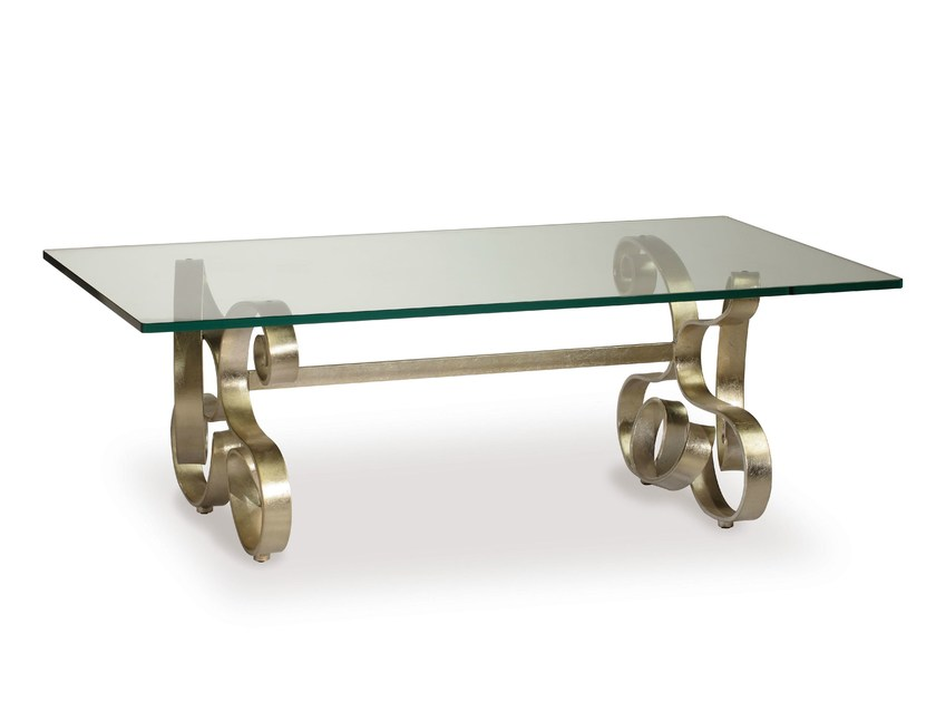 Iron coffee table MIRÒ | Coffee table by Cantori