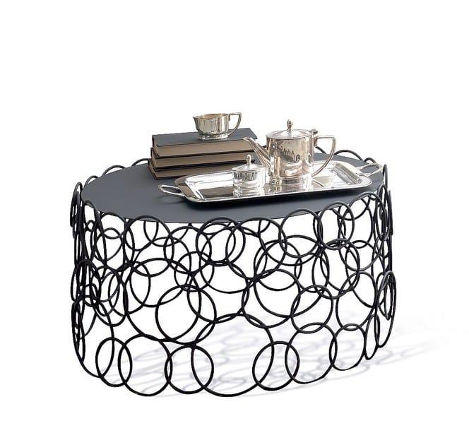 Iron coffee table for living room MONDRIAN | Coffee table for living room by Cantori