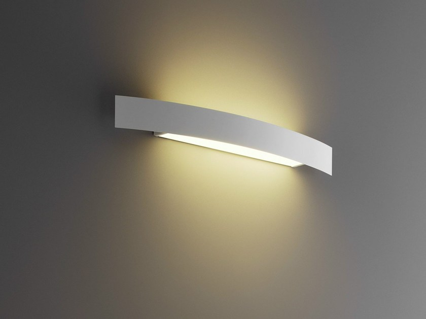 Stainless steel wall light RIGA | Wall light by FontanaArte