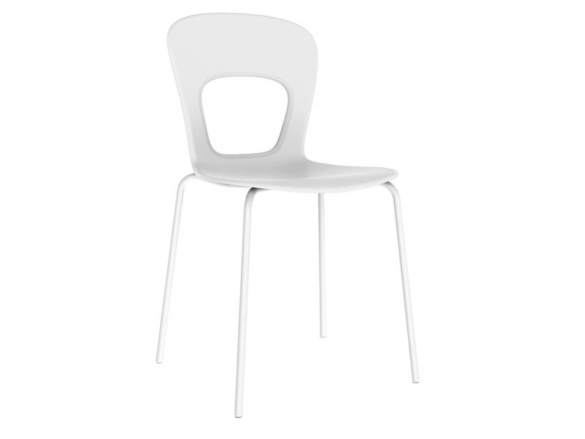 Stackable technopolymer chair BLOG | Technopolymer chair by GABER