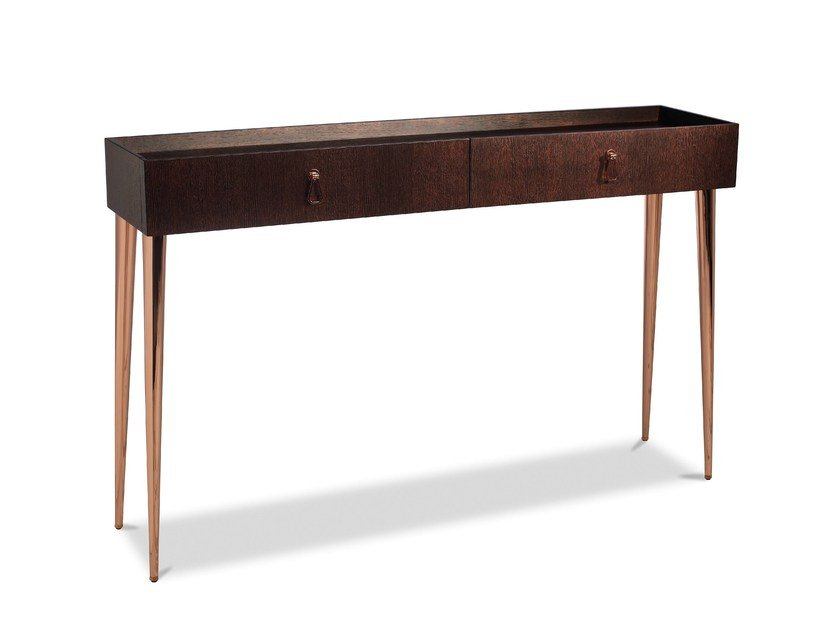 Rectangular console table with drawers CITY | Console table by Cantori