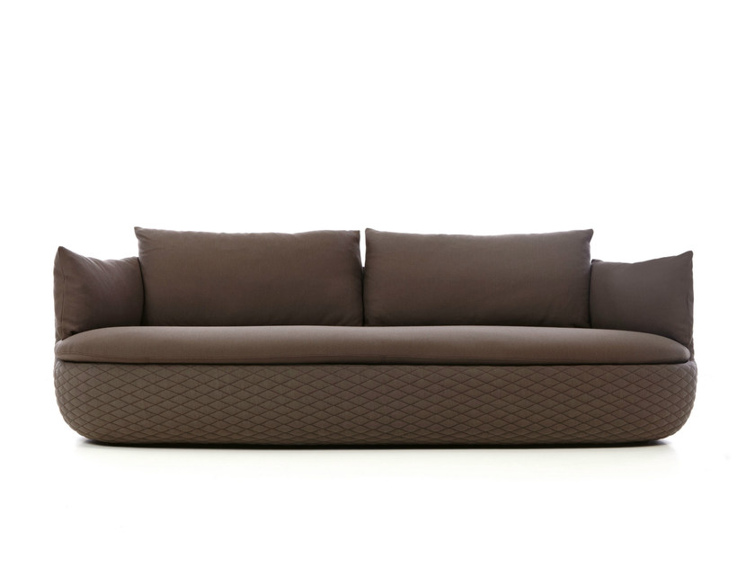 Dacron® sofa with removable cover BART SOFA by moooi