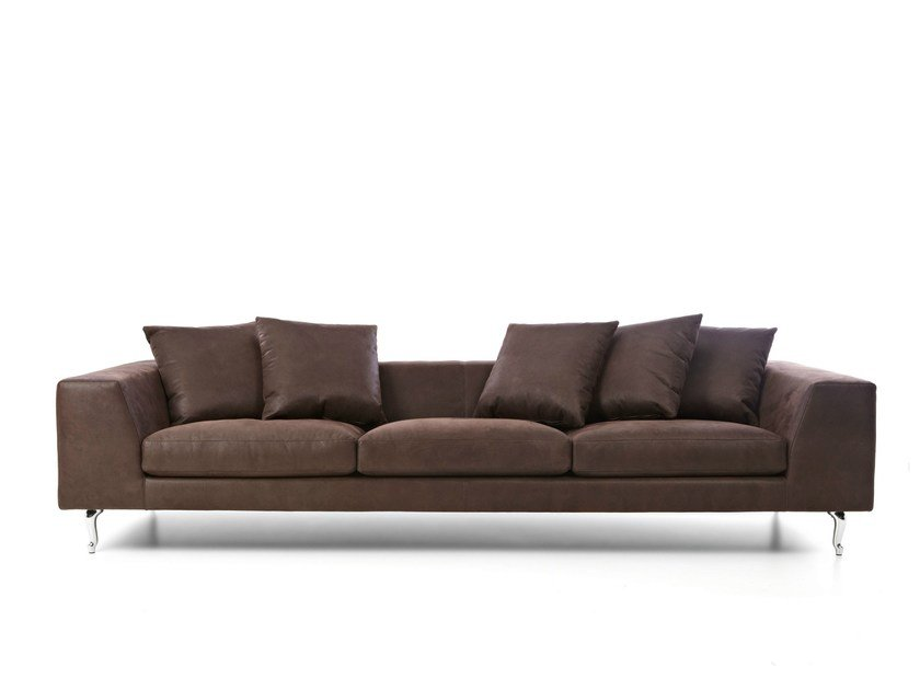Dacron® sofa with removable cover ZLIQ SOFA by moooi