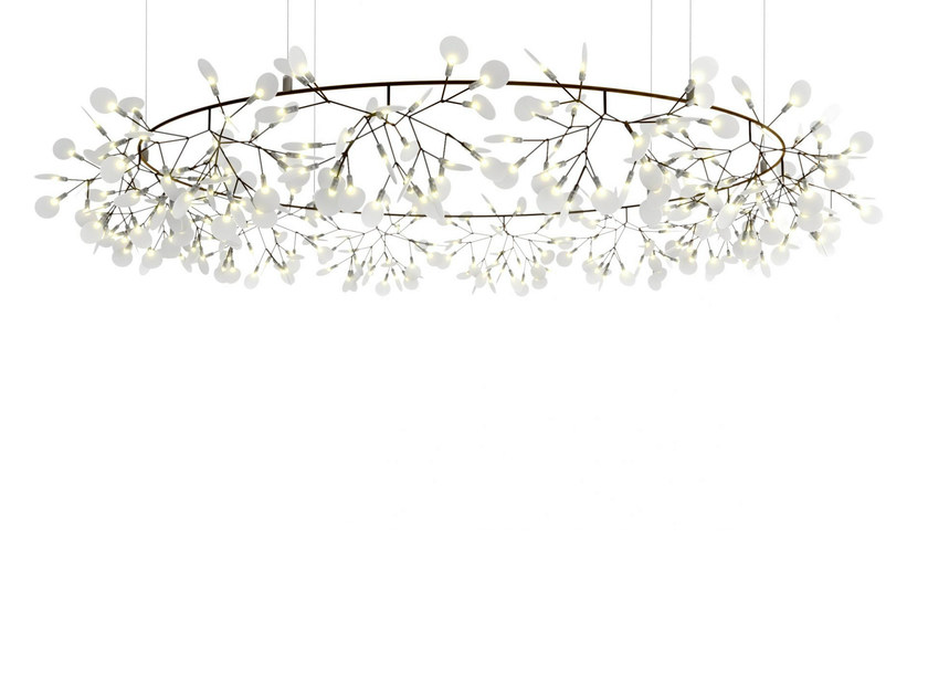 Metal pendant lamp HERACLEUM THE BIG O by moooi
