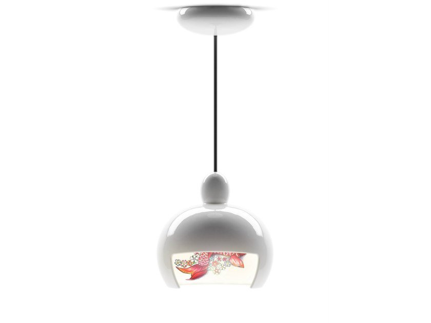 Ceramic pendant lamp JUUYO KOI CARP TATTOO by moooi