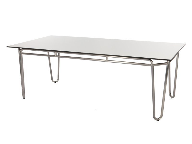Rectangular HPL garden table PHOENIX | Rectangular table by Sérénité Luxury Monaco