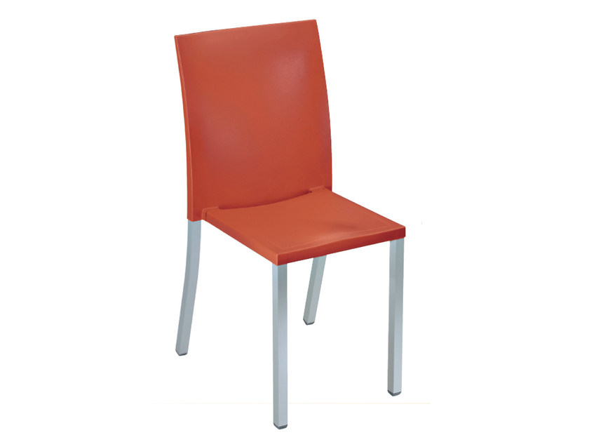 Stackable technopolymer chair LIBERTY | Stackable chair by GABER