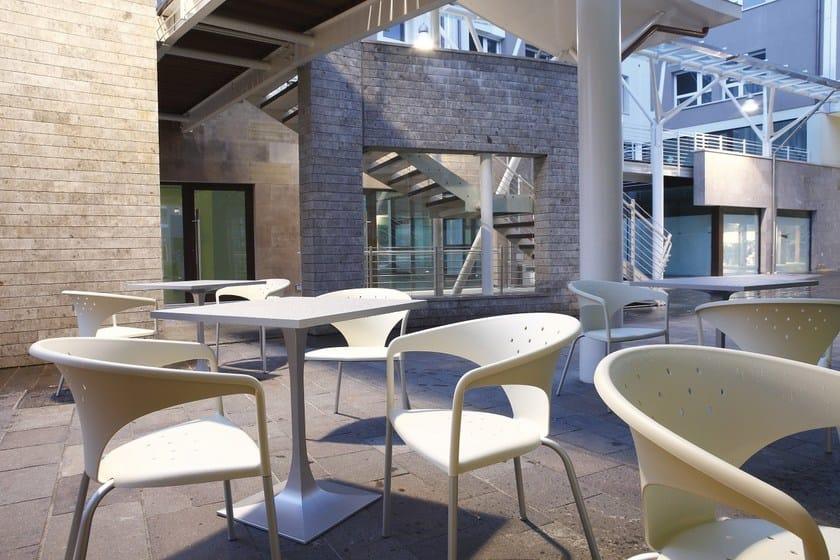 Braccioli Gaber Alluminio Sedia Design Con Terrasse In PnwkX80NO