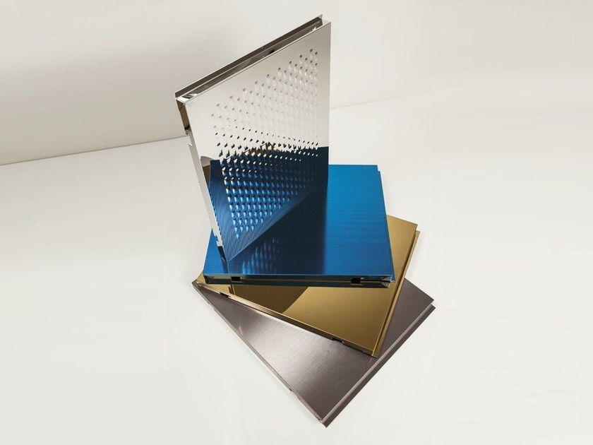Metal sheet and panel for facade STEEL BOND by STEEL COLOR