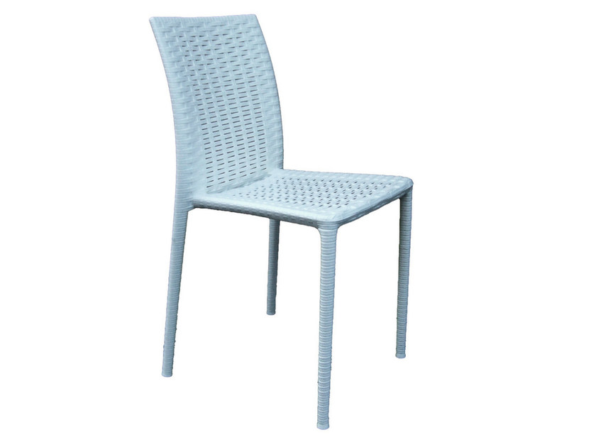 Stackable technopolymer chair TRACY by GABER