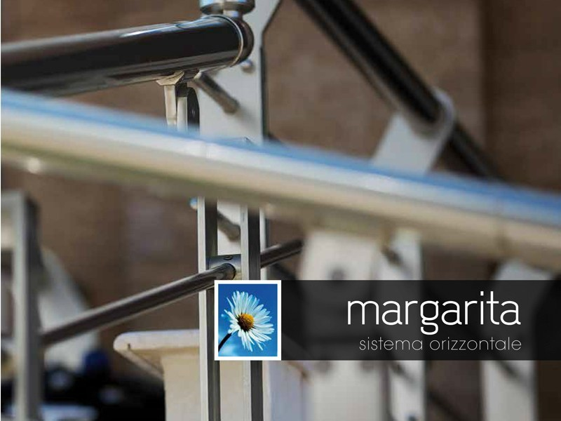 Aluminium outdoor railing MARGARITA by Persea