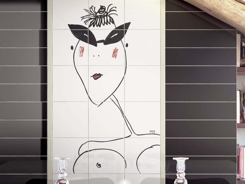 Ceramic wall tiles FATINE SEXY by Ceramica Bardelli
