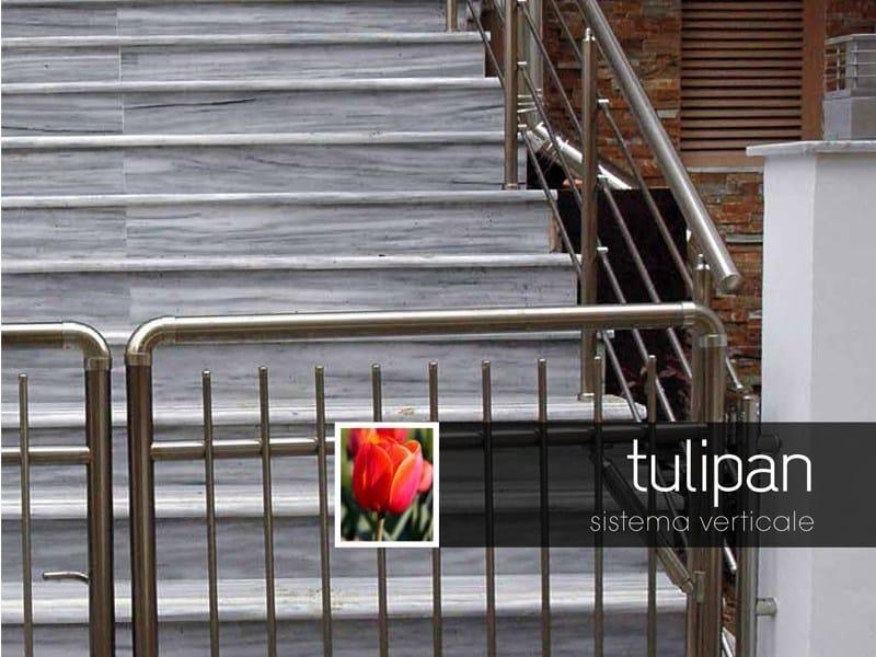 Aluminium outdoor railing TULIPAN by Persea