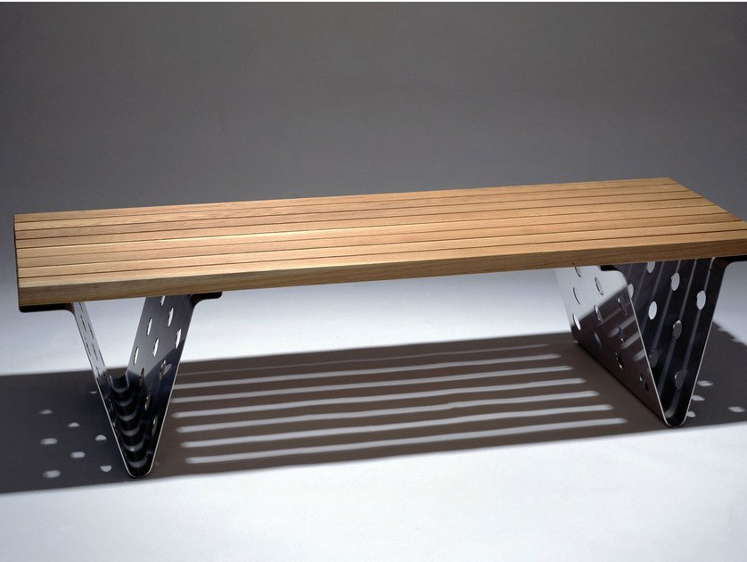Backless bench seating SITTING BULL by Nola Industrier