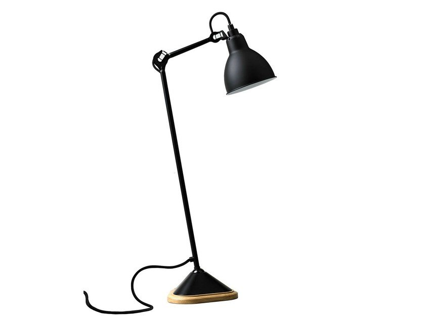 With swing arm desk lamp N°206 | Table lamp by DCW éditions