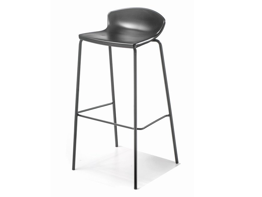 Stackable technopolymer barstool EASY by GABER
