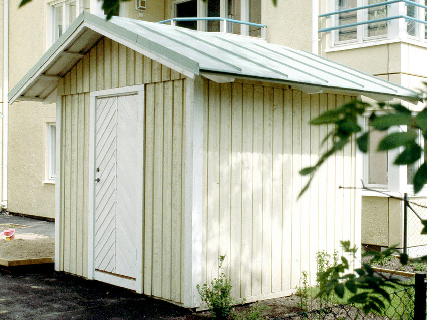 Wooden Garden shed TÖRE by Nola Industrier