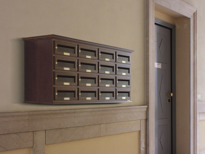 Wooden mailbox CLASSIC DEEP by RAVASI