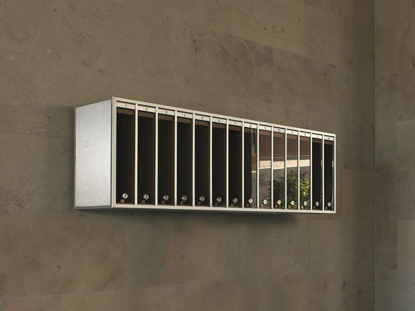 Wall-mounted mailbox R | Mailbox by RAVASI