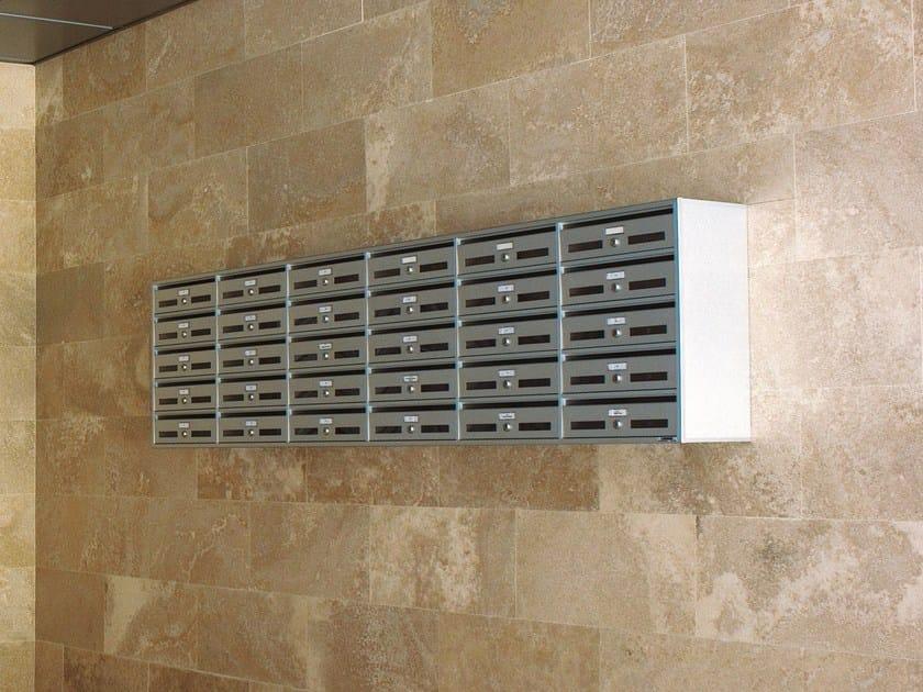 Wall-mounted mailbox FX   Mailbox by RAVASI