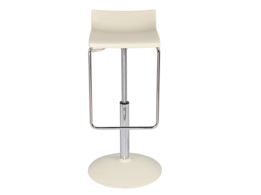 Height-adjustable swivel technopolymer stool MICRO A by GABER