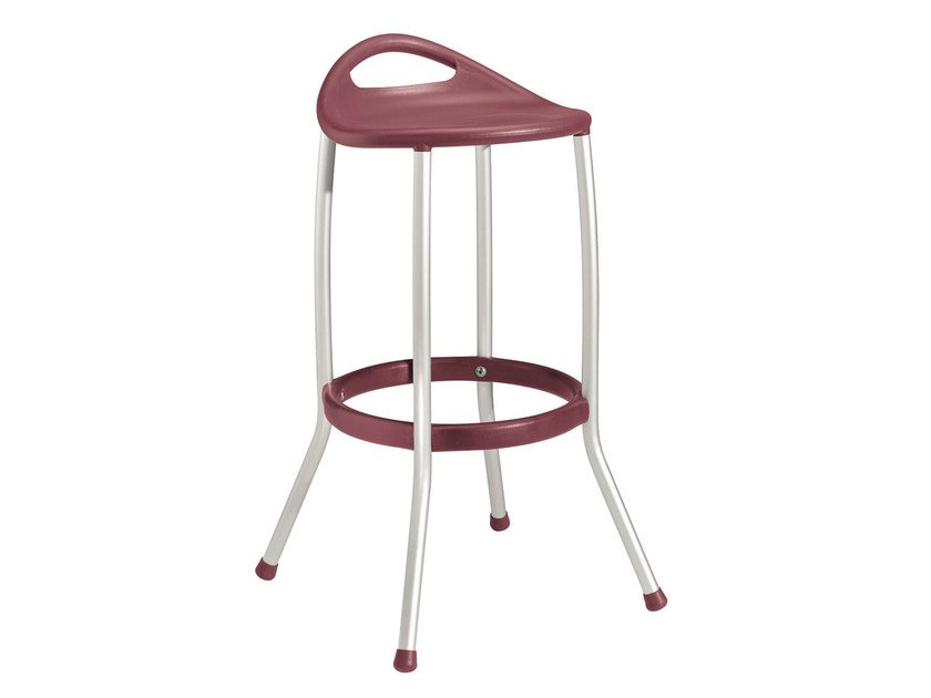 High technopolymer stool MAX H80 by GABER