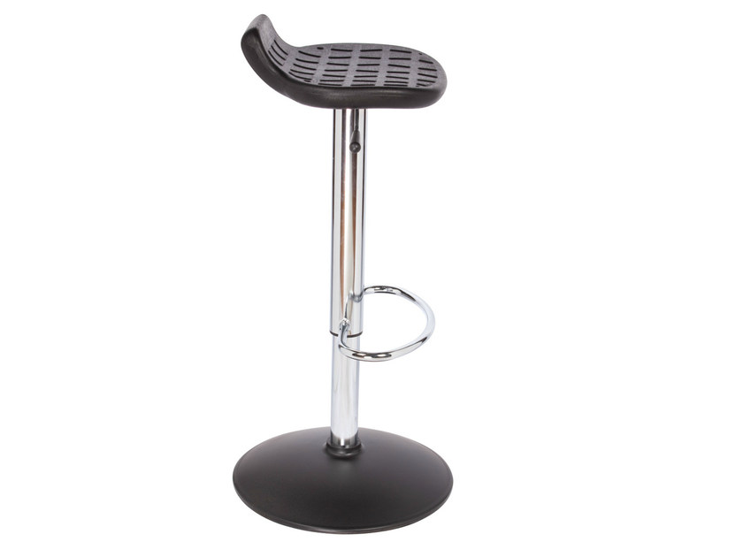 Height-adjustable swivel technopolymer stool SOFT by GABER