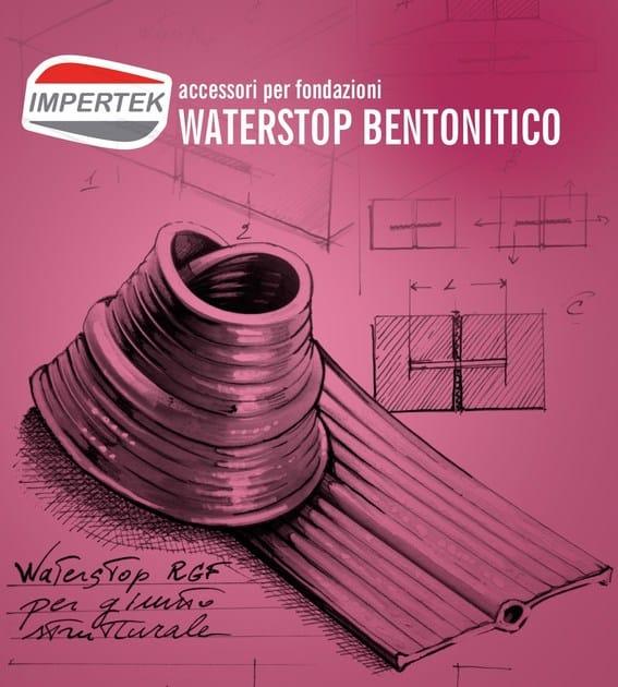Joint for waterproofing WATERSTOP IMPERTEK by IMPERTEK