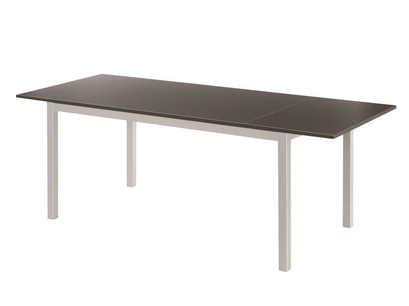 Extending rectangular laminate table NETTUNO | Extending table by GABER