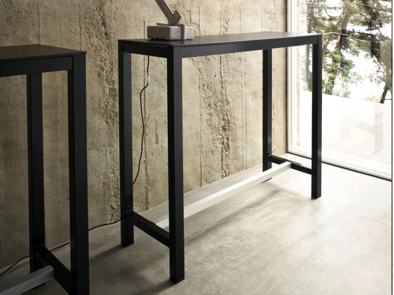 Rectangular laminate console table NETTUNO   Console table by GABER