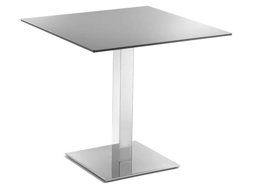 Square aluminium table MARTE by GABER