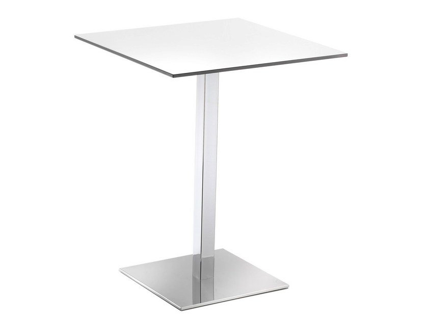 Square high table VENERE by GABER