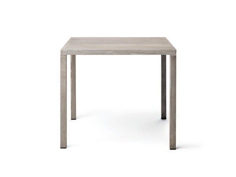 Square cement table ILTAVOLO | Square table by Opinion Ciatti