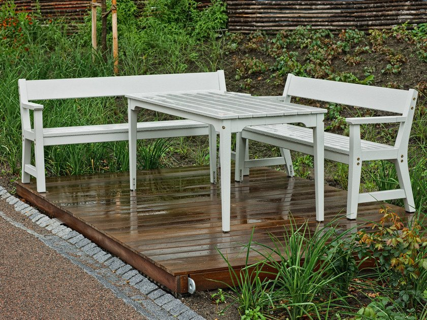 Wooden Table for public areas VEJBY | Table for public areas by Nola Industrier