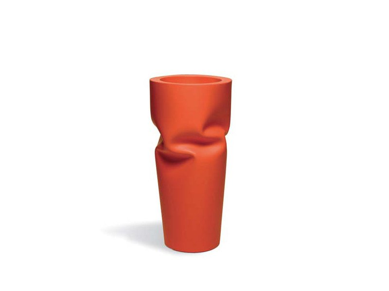 Vaso in polietilene SAVING/SPACE/VASE by Plust