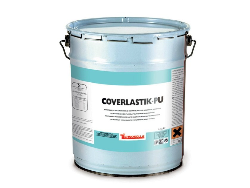 Adhesive and resin for waterproofing COVERLASTIK-PU by TECHNOKOLLA - Sika