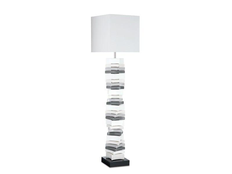 Ceramic floor lamp CAREA FL by ENVY