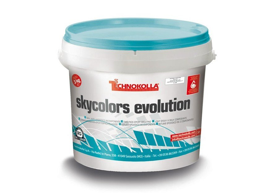 Flooring grout SKYCOLORS EVOLUTION by TECHNOKOLLA - Sika