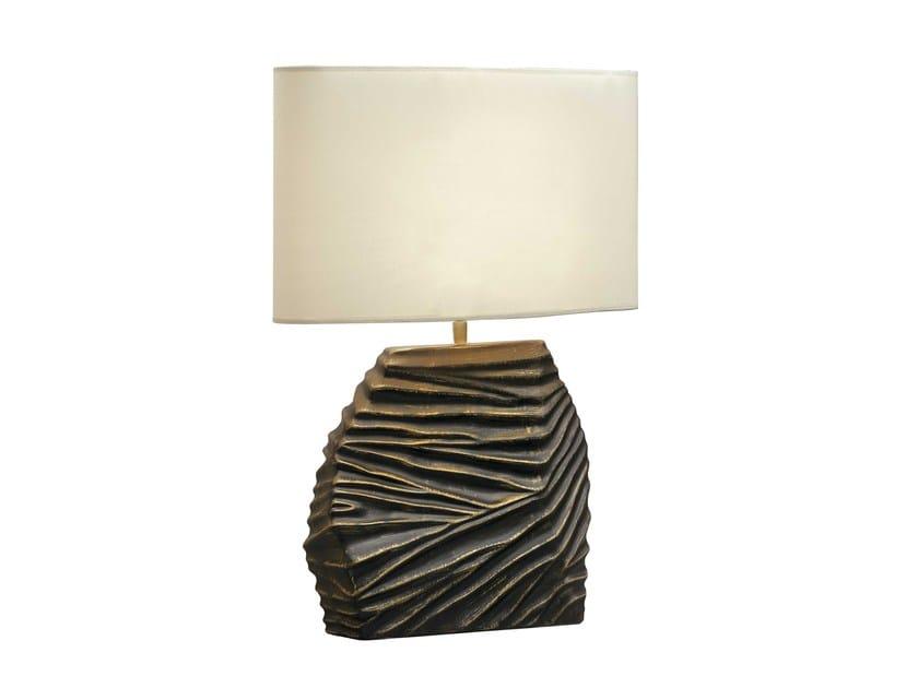 Ceramic table lamp DUNE by ENVY
