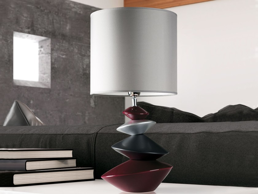 Ceramic table lamp IZA by ENVY