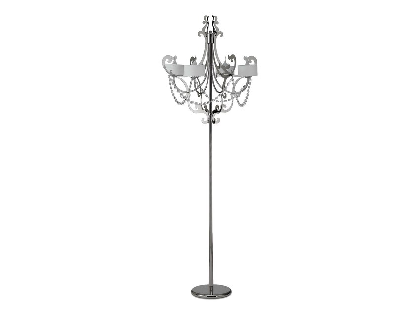 Iron floor lamp IAGO   Floor lamp by Cantori