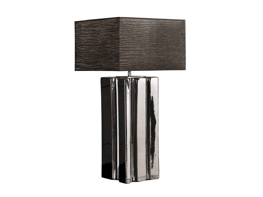 Ceramic table lamp MATRIX by ENVY