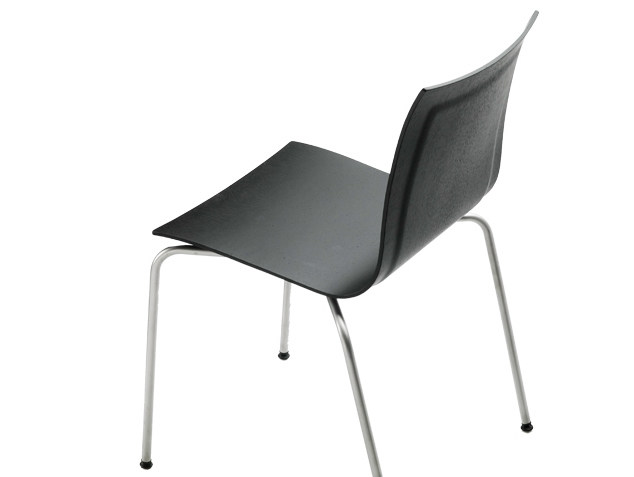 Stackable chair THIN   Stackable chair by Lapalma