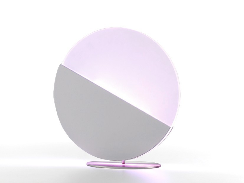 LED acrylic table lamp SLIM MOON by ENVY