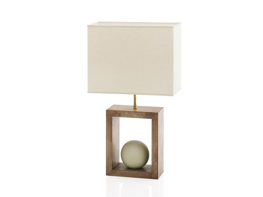 Wooden table lamp STONOO by ENVY