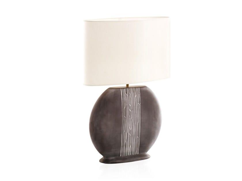 Ceramic table lamp VEGETAL GRAND by ENVY